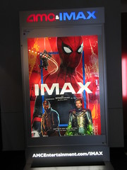 Spider-Man Far From Home Movie Theater Poster 5267 (Brechtbug) Tags: spiderman far from home ad movie poster billboard theater lobby 2019 nyc super hero marvel comic comics character spider man new york city film billboards standee theatre district midtown manhattan amazing coming ads advertising travel stamps july 07132019