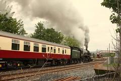 Settle passing (Jacobite52) Tags: 70000 britannia br railway train steam mainlinesteam settle settleandcarlislerailway settlecarlisle