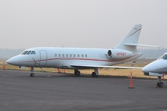 N710ET (LAXSPOTTER97) Tags: n710et dassault falcon 2000 cn 38 monarch air aviation airport airplane kpdx