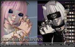 Judgment Claws @ Natsu Kemono Festival (Pirocious) Tags: anime secondlife kemono m4 utilizator