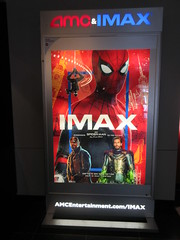Spider-Man Far From Home Movie Theater Poster 5266 (Brechtbug) Tags: spiderman far from home ad movie poster billboard theater lobby 2019 nyc super hero marvel comic comics character spider man new york city film billboards standee theatre district midtown manhattan amazing coming ads advertising travel stamps july 07132019