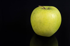 Fresh Healthy Green Apple above black reflective background (wuestenigel) Tags: half natural color cut water slice background vegetarian macro ripe isolated blackbackground copyspace white lifestyle art tasty closeup fresh green health drop apple object healthy nobody diet nature nutrition food organic ingredient bright reflective sweet freshness black vitamin juicy fruit delicious refreshment