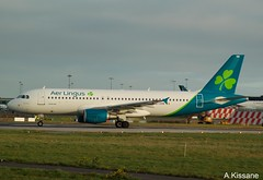 AER LINGUS A320 EI-DVN (Adrian.Kissane) Tags: dublin aerlingus a320 eidvn 1822019 ireland sky irish grass plane outdoors aircraft jet aeroplane airline airbus runway airliner dublinairport 4715