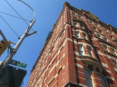 2019 Windermere Apartment House on West 57th St 5239 (Brechtbug) Tags: 2019 the windermere apartment house west 57th street ninth avenue first time since 1980s it been without scaffolding for years an empty deteriorating hulk is coming back life built 1880 nyc 9th ave new york city july 07132019 unified group three buildings total past housed bachelor women later