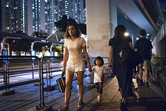 Going home (人間觀察) Tags: 28mm f14 7artisans 七工匠 leica leicam hong kong street photography people candid city stranger public space walking off finder road travelling trip travel 人 陌生人 街拍 asia girls girl woman 香港 wide open