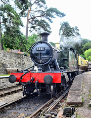 5541 at Parkend. (curly42) Tags: 5541 4500class steam dfr railway transport 262t prairietank parkend deanforestrailway preservedsteamloco