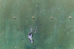Textures (•Nicolas•) Tags: canaryislands holidays lanzarote m9 nicolasthomas spain texture paint color used screws metal relief door