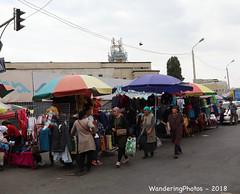 Bazaar umbrellas - Osh Bazaar Bishkek Kyrgyzstan (WanderingPJB) Tags: flickruploaded umbrella kyrgyzstan kyrgyzrepublic kirghizia bishkek oshbazaar market