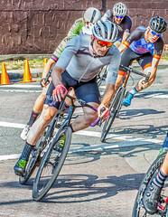 Rounding the Corner @ Tour de White Rock (gks18) Tags: canon bikes racing sports lightroom nik people action