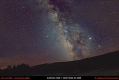 Vía Láctea desde Guadalaviar (Teruel) (Astrocava) Tags: astrofotografía astronomía astro astrophotography astronomy milkyway víaláctea