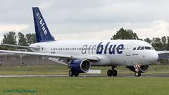 APBNU A320 Air Blue (Anhedral) Tags: