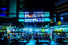Thanon Pat Pong (Hiro_A) Tags: bangkok thailand phatpong tuktuk threewheeler night street nightmarket sony rx100m3 patpong
