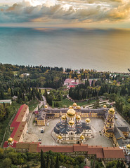 Новоафонский-монастырь-New-Athos-Monastery-Abkhazia-mavic-0967