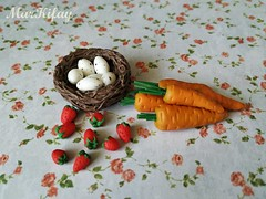 1- food (MarKifay) Tags: food polymer clay doll 16 puppet miniature house breakfast dolls