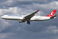 Turkish Airlines A330-303 TC-JOJ (wapo84) Tags: ams eham a330 tcjoj thy turkishairlines