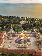 Новоафонский-монастырь-New-Athos-Monastery-Abkhazia-mavic-0965