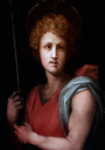 IMG_1202E Il Pontormo (Jacopo Carucci) 1494-1557 Florence Saint Jean Baptiste. Saint Jean Baptist. Dijon Musée des Beaux Arts.
