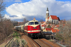 118 522-9 ITL (Zugbild) Tags: bahn zug eisenbahn train rail v180 br118 br228 kamenz sonderzug babelsbergerin lob deutsche reichsbahn osef itl 118 552