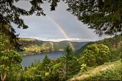 malahat (heavenuphere) Tags: britishcolumbia vancouverisland saanichinlet malahat canada nature landscape rainbow bc view 24105mm moonwaterlodge malahatchalet cowichanvalley