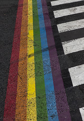 Rainbow Crossing, Paris (IFM Photographic) Tags: img9360a canon 600d ef2470mmf28lusm ef 2470mm f28l usm lseries paris france 10tharrondisment x 10th arondisment 10e 10ème 75010 rainbowcrossing rainbow crossing pride lbgt