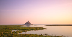 Somewhere only we know... (chtimageur) Tags: morning montsaintmichel france normandy landscape paysage nature natuur monument long exposure great sunrise canon 6d mark ii sigma3514art