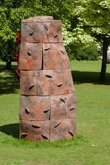 Chris Speyer, Fold (jacquemart) Tags: thecotswolds freshairsculpture quenington gloucestershire sculpture exhibition chrisspeyer fold