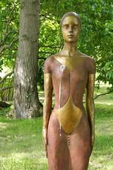 Carol Peace, Armour Girl (jacquemart) Tags: thecotswolds freshairsculpture quenington gloucestershire sculpture exhibition carolpeace armourgirl nude