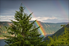 malahat (heavenuphere) Tags: canada nature landscape rainbow bc view britishcolumbia vancouverisland saanichinlet malahat 24105mm moonwaterlodge malahatchalet cowichanvalley