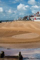 Marker in the sand (DavidHowarthAgain) Tags: bridlington yorkshire coast summer june 2019 seafront