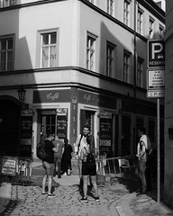 B59A4113 (angrykarl) Tags: 50mm canon canoneos ef50mmf18stm prague praha street streetphoto canoneosr canonr streetphotography bnw blackandwhite