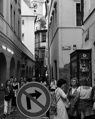 B59A4111 (angrykarl) Tags: 50mm canon canoneos ef50mmf18stm prague praha street streetphoto canoneosr canonr streetphotography bnw blackandwhite
