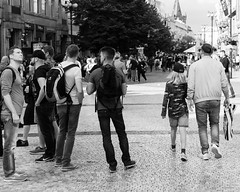 B59A4088 (angrykarl) Tags: 50mm canon canoneos ef50mmf18stm prague praha street streetphoto canoneosr canonr streetphotography bnw blackandwhite