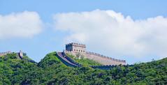Great Wall of China (maios) Tags: mutianyu greatwall beijing china great wall maios asia cloud green plant tree
