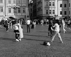Cheese! (angrykarl) Tags: 50mm canon canoneos ef50mmf18stm prague praha street streetphoto canoneosr canonr streetphotography bnw blackandwhite