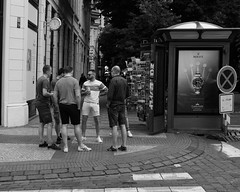 No Stopping (angrykarl) Tags: 50mm canon canoneos ef50mmf18stm prague praha street streetphoto canoneosr canonr streetphotography bnw blackandwhite