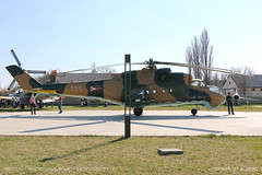 Mil Mi-24D Hind (srkirad) Tags: aviation helicopter mil mi24 hind hungarian russian aviationmuseum museum szolnok hungary exhibition travel sunny reptar