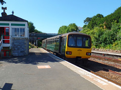 143619 Torquay (Marky7890) Tags: gwr 143619 class143 pacer 2t09 torquay railway devon rivieraline train