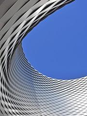 Messe Basel New Hall 4 (RobertLx) Tags: messebasel messeplatz modern contemporary vertical building basel switzerland europe geometric circular curve architecture city travel herzogdemeuron