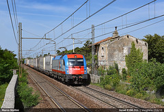 Ekol! (Marco Stellini) Tags: inrail taurus siemens 190 1216 triest visogliano treno porto ekol es64u4