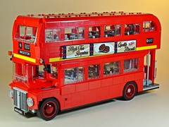 LEGO – Creator – 10258 – London Bus – Left Side (My Toy Museum) Tags: lego creator london bus son boredom buster gundam