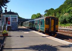 150233 Torquay (2) (Marky7890) Tags: gwr 150233 class150 sprinter 2t08 torquay railway devon rivieraline train