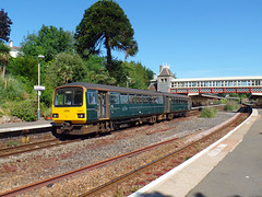143619 Torquay (3) (Marky7890) Tags: gwr 143619 class143 pacer torquay railway devon rivieraline train