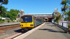 143619 Torquay (2) (Marky7890) Tags: gwr 143619 class143 pacer 2t09 torquay railway devon rivieraline train