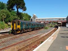 150233 Torquay (3) (Marky7890) Tags: gwr 150233 class150 sprinter 2f21 torquay railway devon rivieraline train