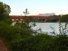 Eisenbahnbrücke überm Main (Sophia-Fatima) Tags: frankfurt hessen deutschland main