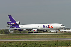 FedEx MD-11F (tzhskz) Tags: aircraft airplane airliner airport ala uaaa jet md11f fedex n595fe runway takeoff kazakhstanspottingclub ksc 48553
