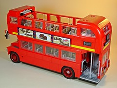 LEGO – Creator – 10258 – London Bus – Tour Bus! (My Toy Museum) Tags: lego creator london bus son boredom buster gundam