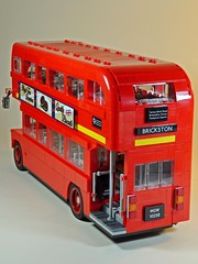 LEGO – Creator – 10258 – London Bus – Back (My Toy Museum) Tags: lego creator london bus son boredom buster gundam