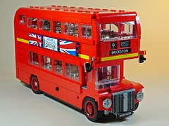 LEGO – Creator – 10258 – London Bus – Right Side (My Toy Museum) Tags: lego creator london bus son boredom buster gundam