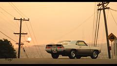 Chevrolet Camaro Z28 (at1503) Tags: sunset sun sky urban sanfrancisco california usa america americancar classiccar musclecar 1960scar chevrolet camaroz28 chevroletcamaroz28 wheels car orange red yellow colours colors gtsport granturismo granturismosport motorsport racing game gaming ps4